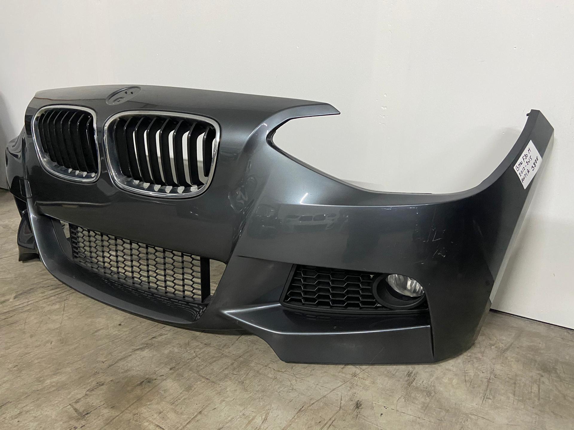 Protection pare-chocs ladekante Noir Pour BMW 1er f20 Hatchback 5-porte 2011-2015